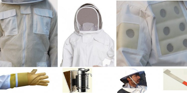 Beekeeping Suit Smoker Veil